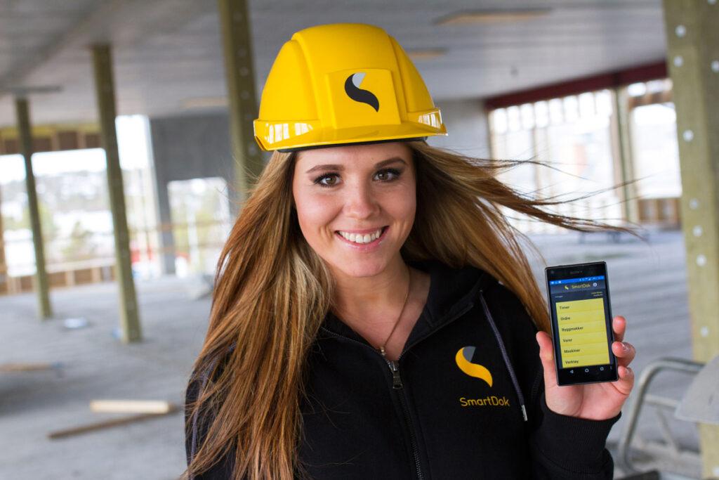 SmartDok er laget for og i samarbeid med bygg- og anleggsbransjen. Foto: Lasse Sørnes