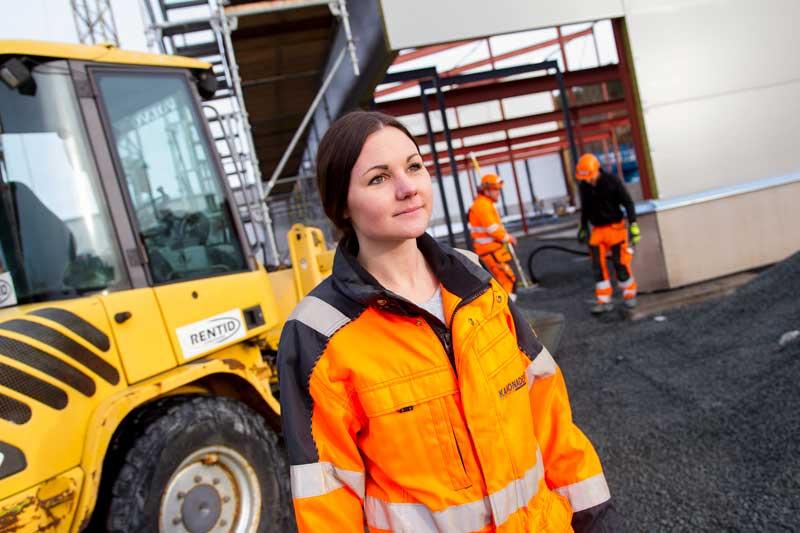 Sarah Hektor Kanonaden på byggeplass Kanonaden