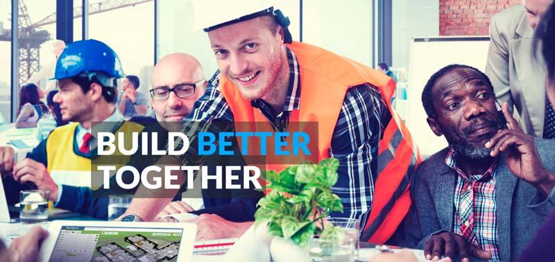 På bimsync sine hjemmesider kommer det klart frem at samarbeid skaper en bedre byggeplass. Nå kan den neste samarbeidspartneren kanskje bli SmartDok. Foto: bimsync.
