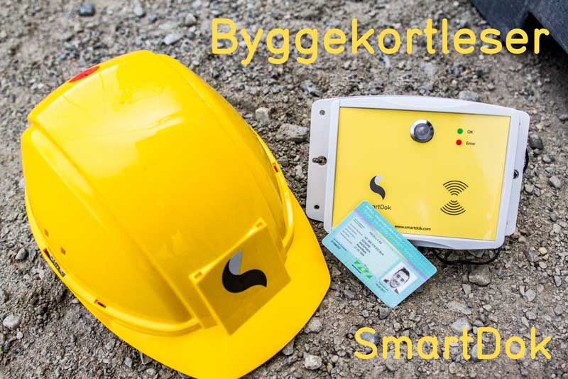 SmartDok byggekortleser mannskapsliste