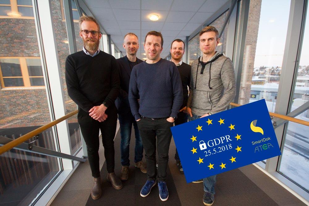 SmartDok inngår samarbeid med Atea om GDPR