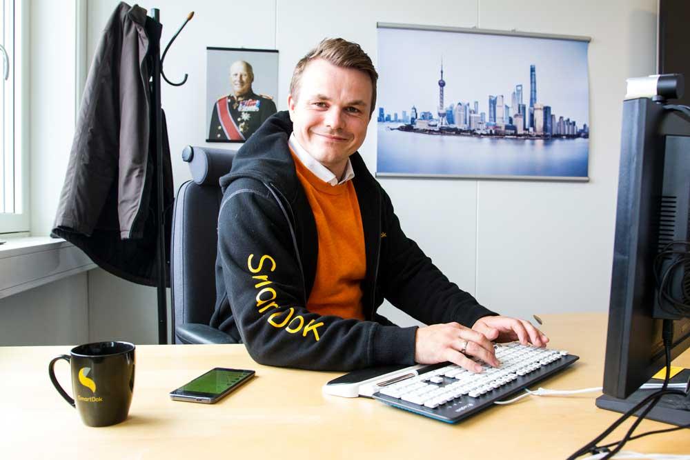 Full kontroll - oversikt - og et kontor en kan leve med