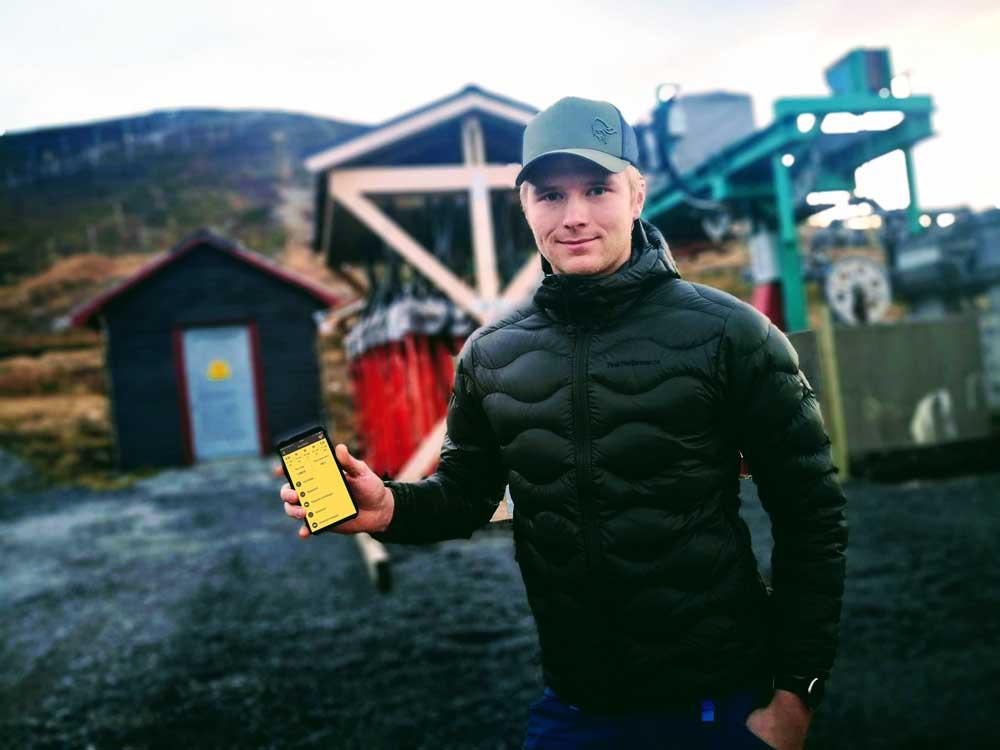 Når driftsleder Jesper Kræmer Kufaas åpner alpinanlegget for sesongen er det med god samvittighet om at sikkerheten i anlegget er godt tatt vare på.