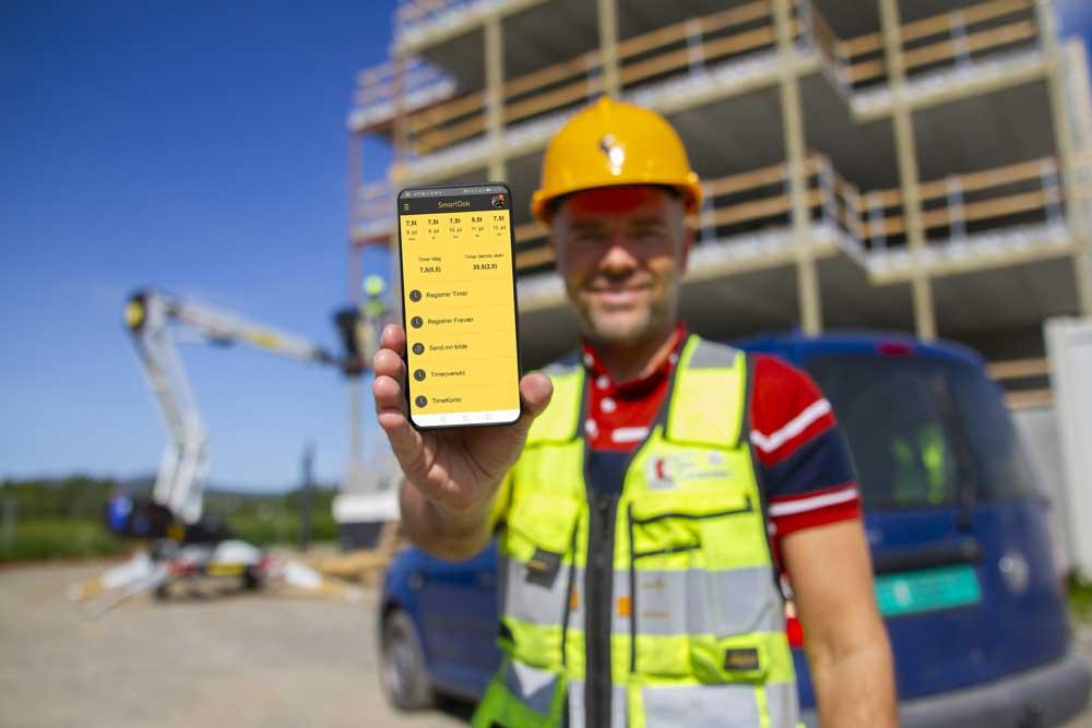 SmartDok er utviklet for entreprenørbransjen og gir deg full oversikt over prosjektene dine
