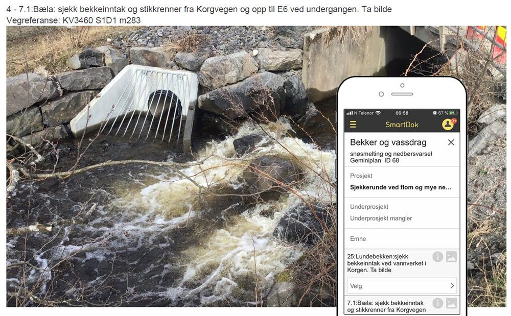 Flom Lillehammer kommune app SmartDok