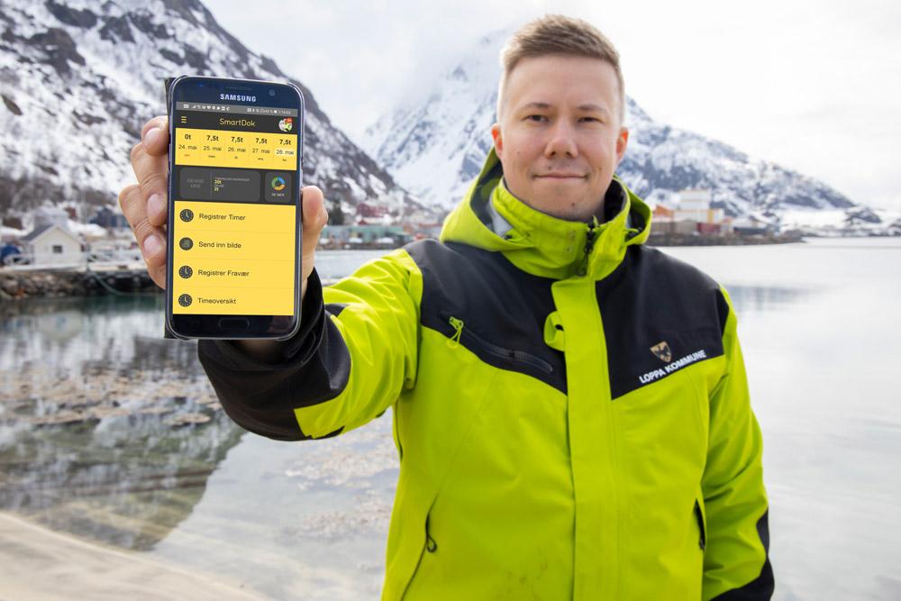 Loppa kommune tok i bruk SmartDok på bakgrunn av erfaringer fra bygge- og anleggsbransjen.