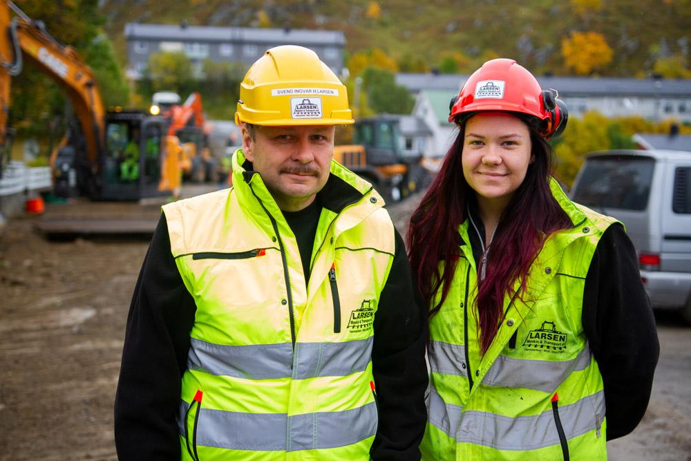 Charlotte Mauseth og Svend Ingvar Larsen