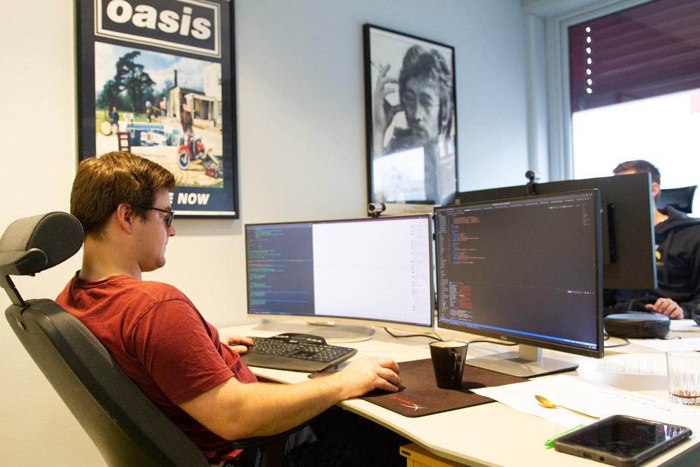 Utvikler i SmartDok