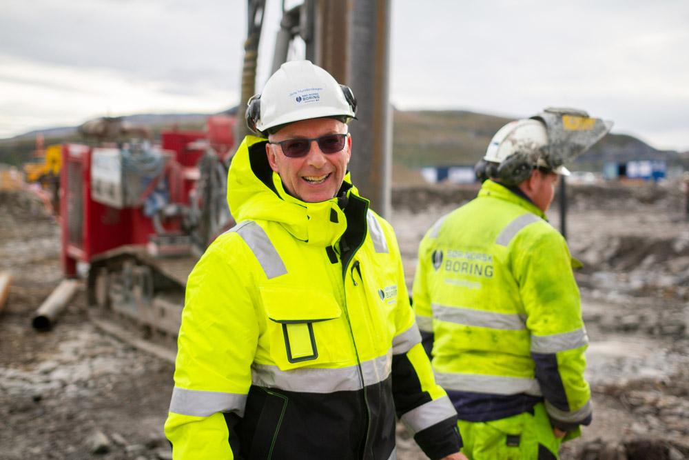 Sør-Norsk Boring bruker SmartDok