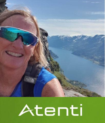Carina Edberg i regnskapsbyrået Atenti AS bruker SmartDok