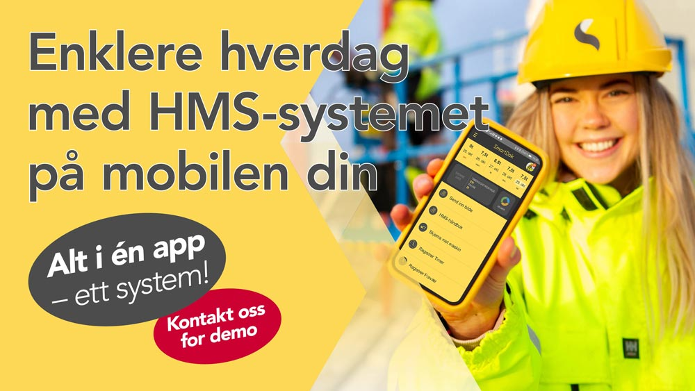 Et HMS-system i mobilen kan gjøre din bedrift til HMS-vinner