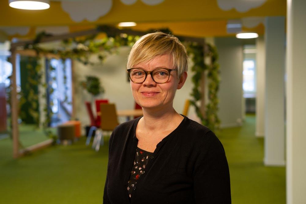 Evy Olsen motiveres av en meningsfull hverdag og har funnet drømmejobben hos SmartDok