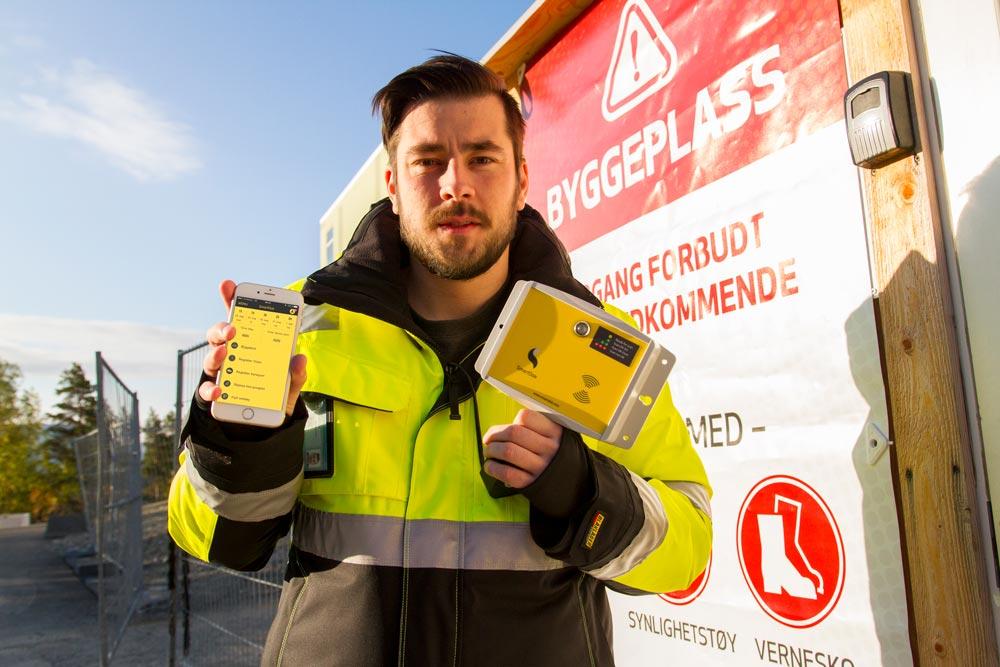 Over 1000 prosjekter i Norge bruker i dag vår fleksible løsning på elektroniske mannskapsliste via mobil eller byggekortleser.